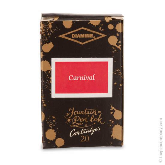 Carnival Diamine 150th Anniversary Ink Cartridges - 1