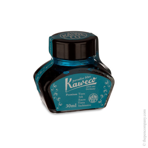 Paradise Blue Kaweco Bottled Ink