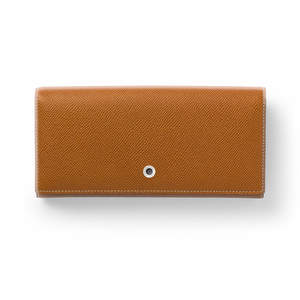 Cognac Graf von Faber-Castell Ladies Purse with Snap Fastener Wallet - 1