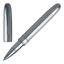 Chrome Hugo Boss Stripe Rollerball Pen - 1