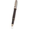 Sheaffer Prelude fountain pen - onyx black with gold trim - 1
