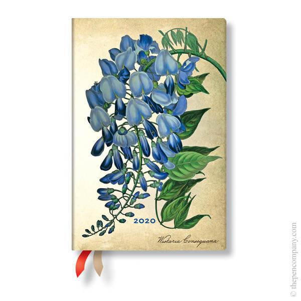 Mini Paperblanks Painted Botanicals 2020 Diary
