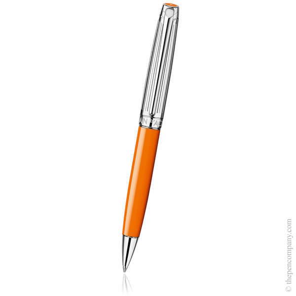 Saffron Caran d'Ache Léman Bicolour Ballpoint Pen