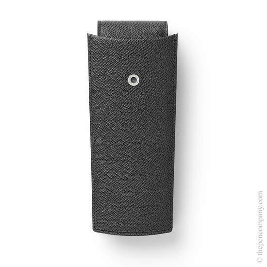Black Graf von Faber-Castell Two-Part Pen Case Three - 4
