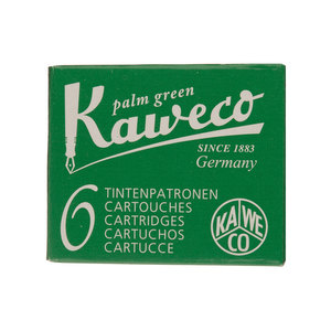 Palm Green Kaweco Fountain Pen Cartridges - 1