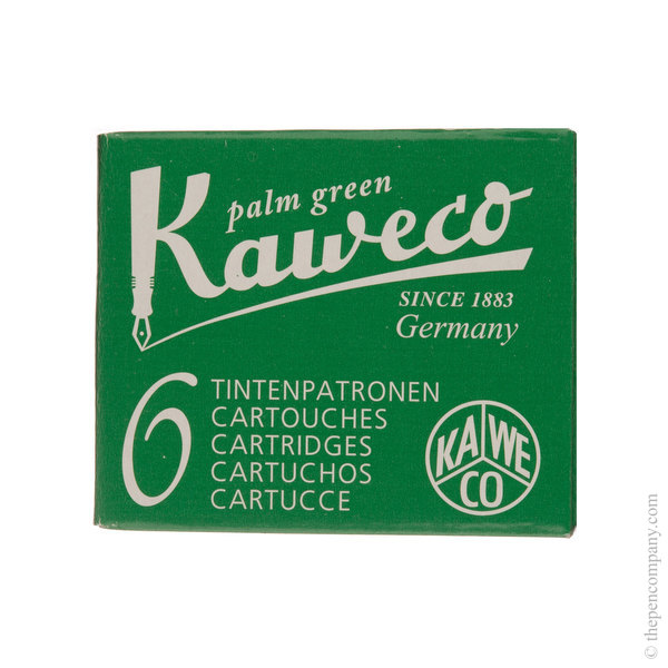 Palm Green Kaweco Ink Cartridges