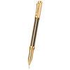 Caran d'ache Varius Chinablack Rollerball Pen Gold - 1
