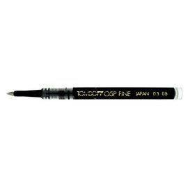 Tombow Super Pen Rollerball Refill Fine Black- 1