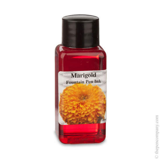 Marigold Diamine Flower Collection Fountain Pen Ink Refills - 1