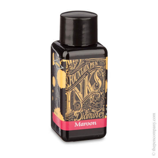 Maroon Diamine Fountain Pen Ink 30ml - 1