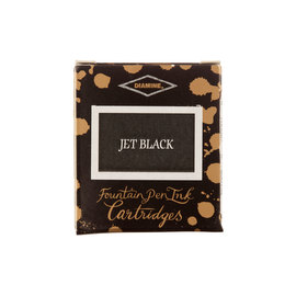 Diamine Jet Black Fountain Pen Cartridges 6 Pack - 1