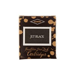 Diamine Jet Black Fountain Pen Cartridges 6 Pack - 1