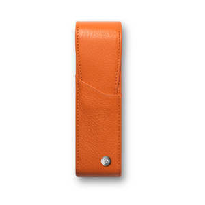 Saffron Caran d Ache Leman Pen Case for Two Pens - 1
