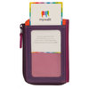 Mywalit Zip Purse plus ID Holder Sangria Multi - 4
