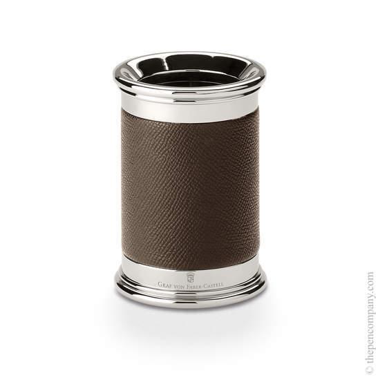Dark Brown Graf von Faber-Castell Epsom Pen Holder - 1