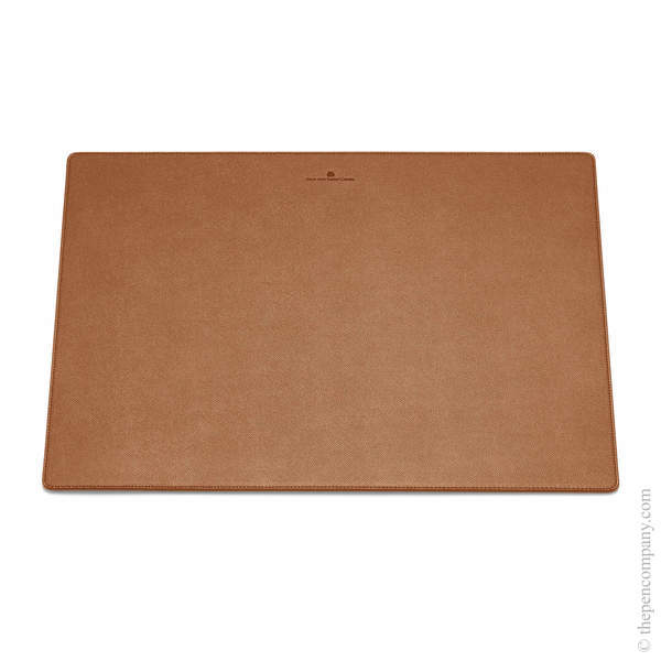 Cognac Graf von Faber-Castell Epsom Desk Pad - Grained