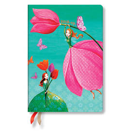Midi Paperblanks Mila Marquis 2018-2019 18 Month Diary Joyous Springtime Horizontal Week-to-View - 1