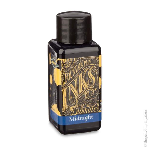 Midnight Diamine Bottled Fountain Pen Ink 30ml