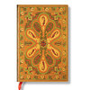 Lined Mini Paperblanks Amber Bukhara Journal - 1