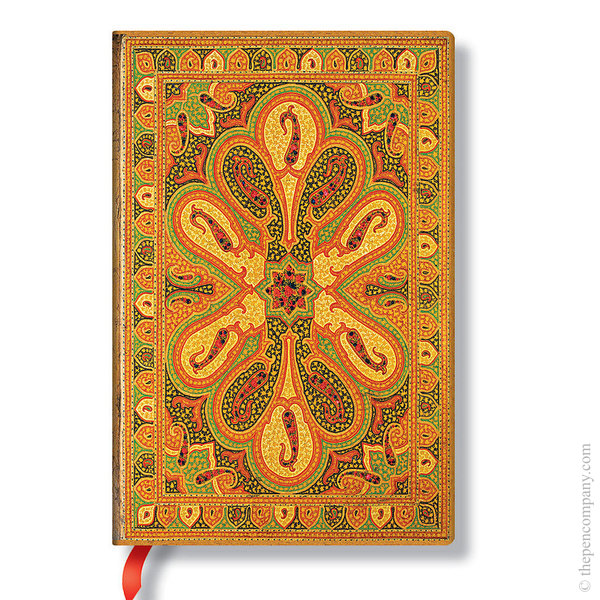 Mini Paperblanks Bukhara Journal Journal Amber Lined