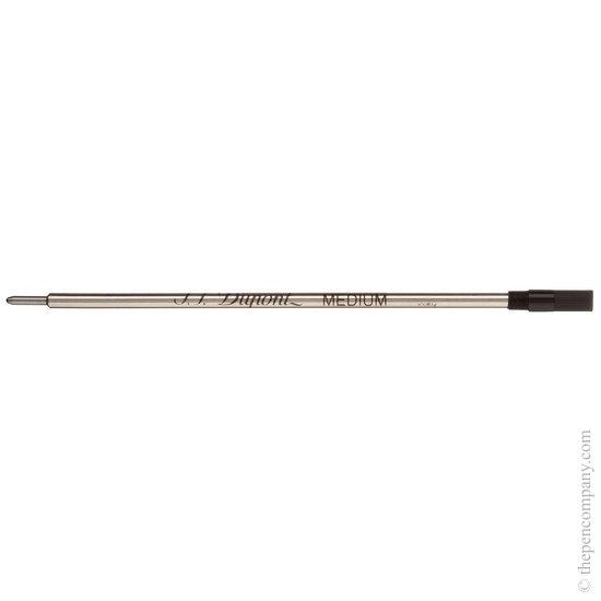 Black Dupont slim ballpoint refill - 1