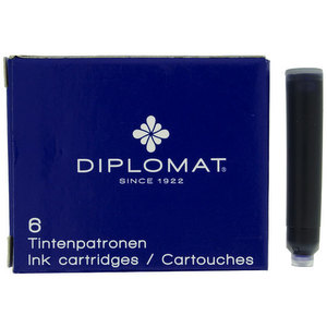 Diplomat Fountain Pen Cartridges Blue