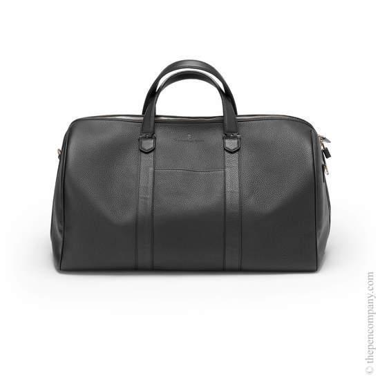 Black Graf von Faber-Castell Cashmere Weekender Bag - 1
