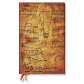 Maxi Paperblanks Embellished Manuscripts 2020 Diary Sun and Moonlight Horizontal Week-to-View - 1