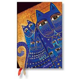 Paperblanks Mini Week-to-view Laurel Burch Mediterranean Cats 2017 Diary - 1