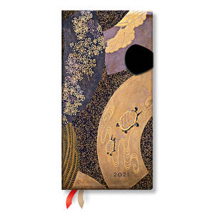 Paperblanks Ougi Japanese Lacquer Boxes 2021 Diary Slim