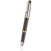 Sheaffer Sagaris fountain pen - black/gold with chrome cap - 2