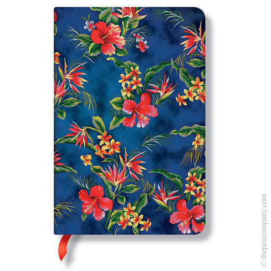 Lined Mini Paperblanks Laulima Aloha Journal - 1