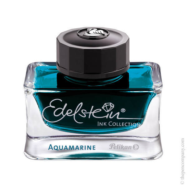 Aquamarine Pelikan Bottled Edelstein Ink