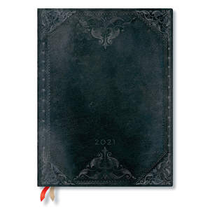 Paperblanks Midnight Rebel Bold The New Romantics 2021 Diary Ultra