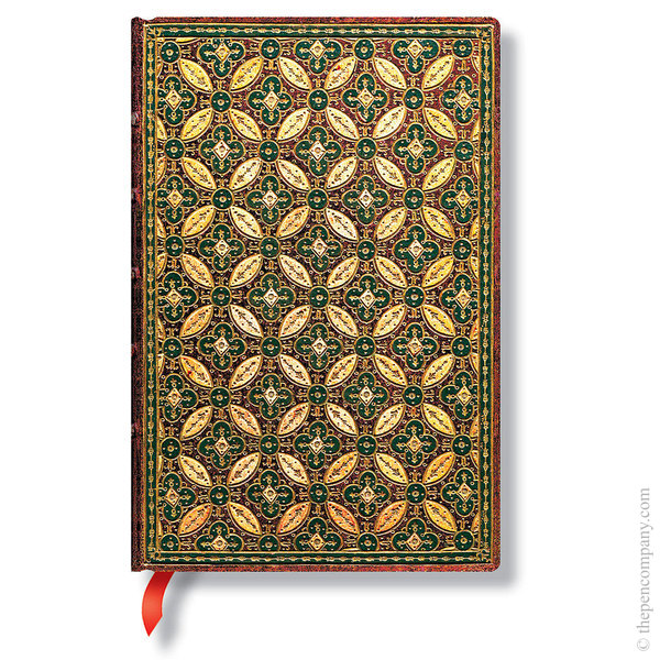 Mini Paperblanks Parisian Mosaic Journal Mosaique Safran Lined