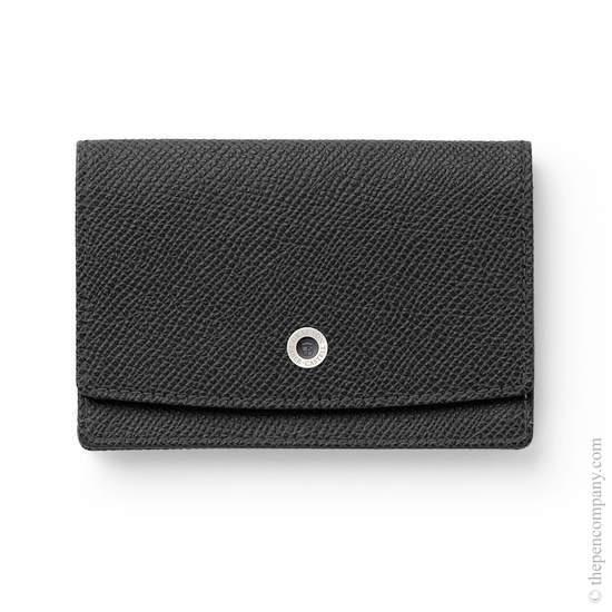 Black Graf von Faber-Castell Business Card Case Holder - 1