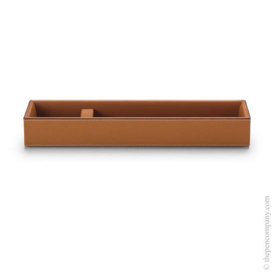 Cognac Graf von Faber-Castell Pure Elegance Pen Tray - 1