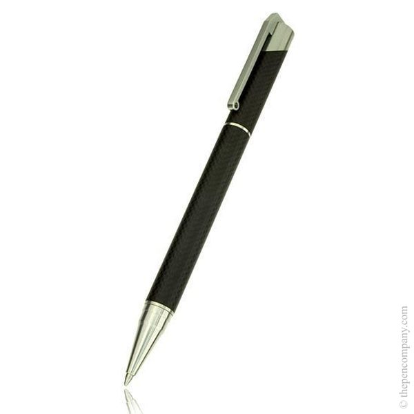 Black Tombow Zoom 101 Carbon Fibre Ballpoint Pen
