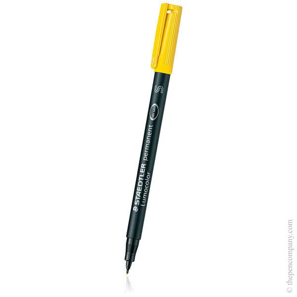 Yellow [1] Staedtler Lumocolor Permanent Marker