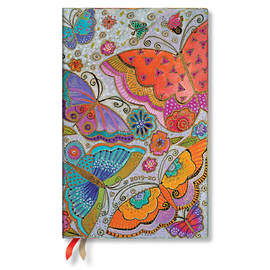 Maxi Paperblanks Flutterbyes 2019-2020 18 Month Diary Vertical Week-to-View - 1
