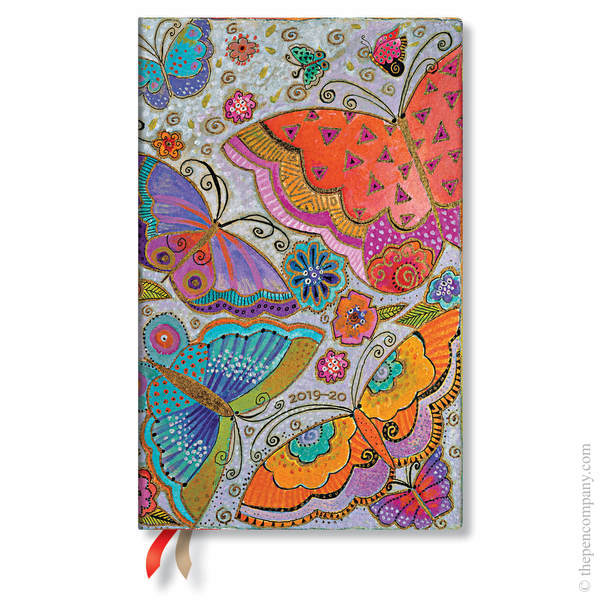 Maxi Paperblanks Flutterbyes 2019-2020 18 Month Diary Academic Diary