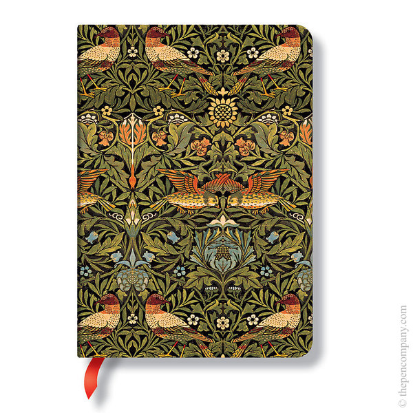 Midi Paperblanks William Morris Journal Journal Birds Lined