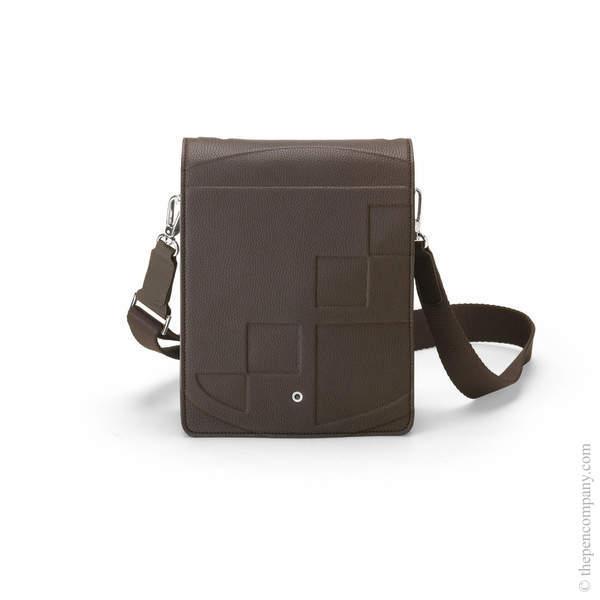 Dark Brown Graf von Faber-Castell Cashmere Messenger Bag Small Backpack