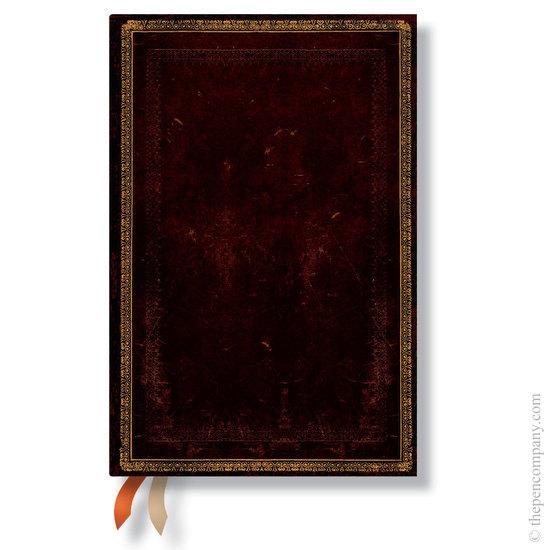 Paperblanks Black Moroccan Mini 2016 horizontal diary - 1