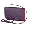 Mywalit Full Flap Multicomp Shoulder Clutch Bag Sangria Multi - 2