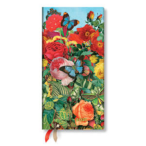 Paperblanks Butterfly Garden Nature Montages 2021 Diary Slim