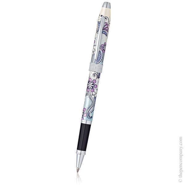 Purple Orchid Cross Botanica Rollerball Pen