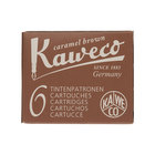 Caramel Brown Kaweco Fountain Pen Cartridges - 1