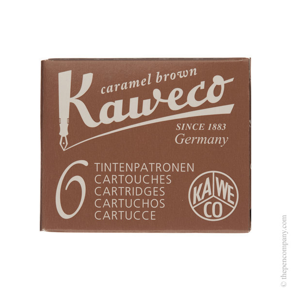 Caramel Brown Kaweco Ink Cartridges
