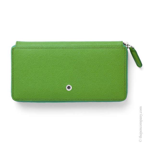 Viper Green Graf von Faber-Castell Epsom Ladies Purse with Zip
